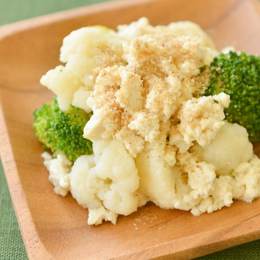 花野菜のミモザ風サラダ