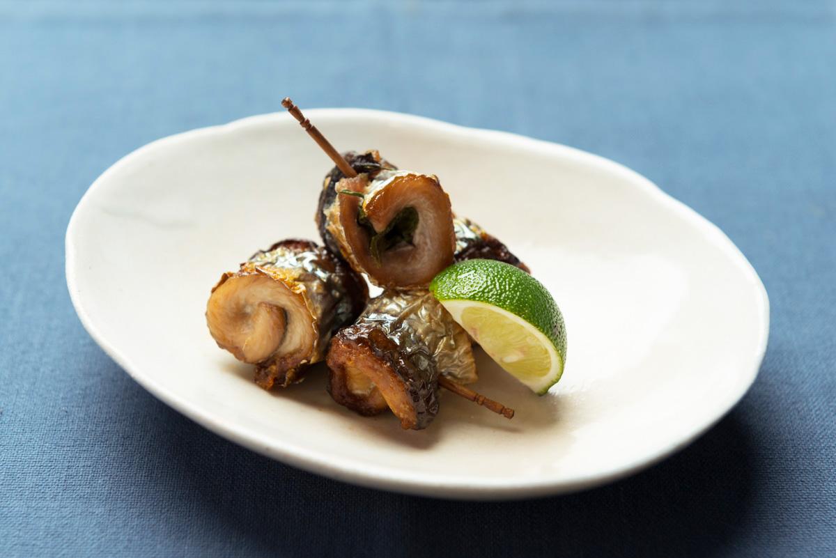 秋刀魚の焼き物