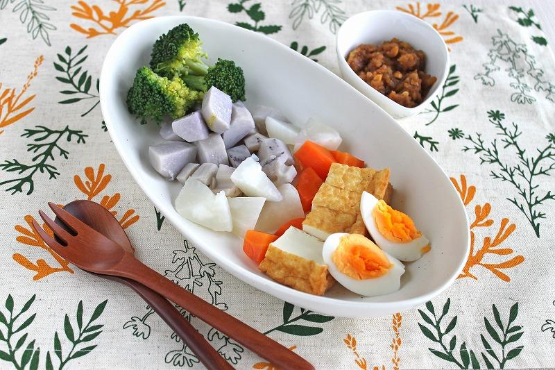 生揚げと野菜のガドガド
