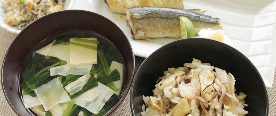 8月 葉月|季節先取り 処暑の料理レシピ